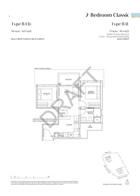 Irwell High Residences 2-Bedroom Classic