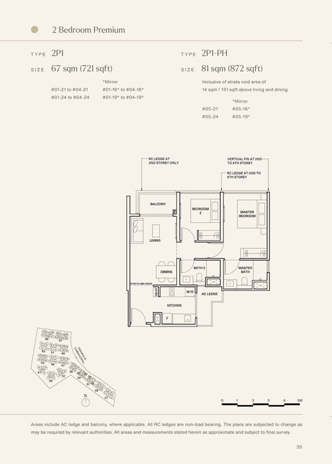 The Watergardens at Canberra 2 Bedroom Premium