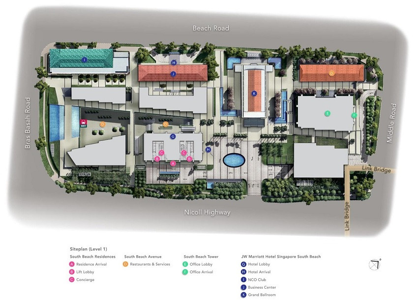 South Beach Site Plan