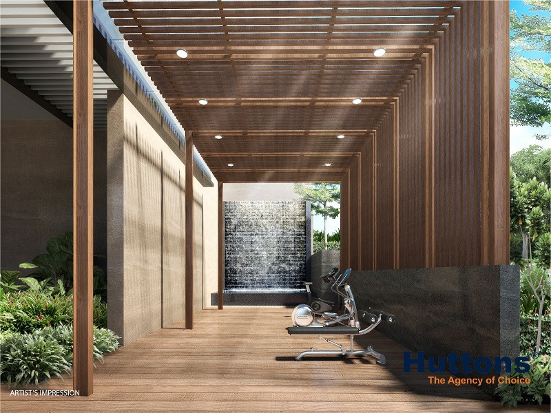 Wilshire Residences Outdoor Fitness
