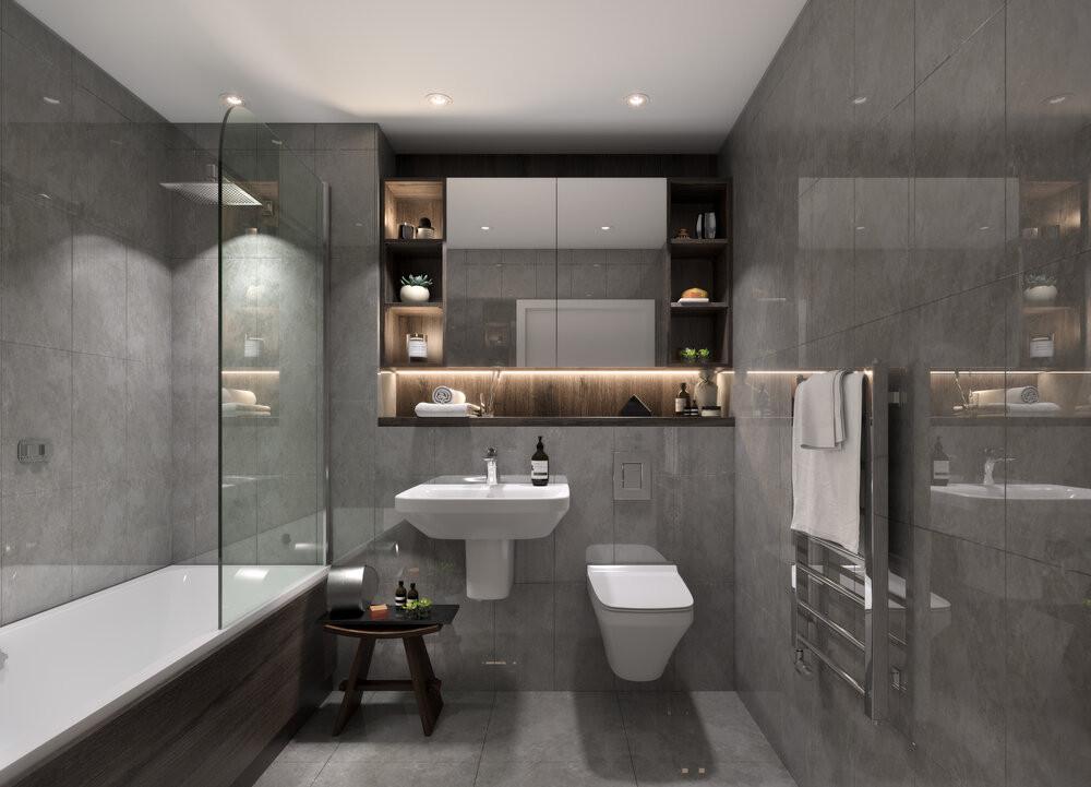 Crown Street Bathroom