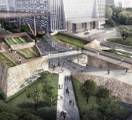 Wallich Residence - Urban Park