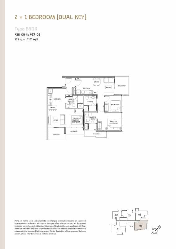 Verticus condo 2+1 Bedroom Dual Key