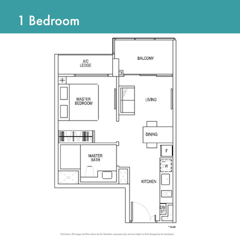 Canninghill Piers - 1-Bedroom