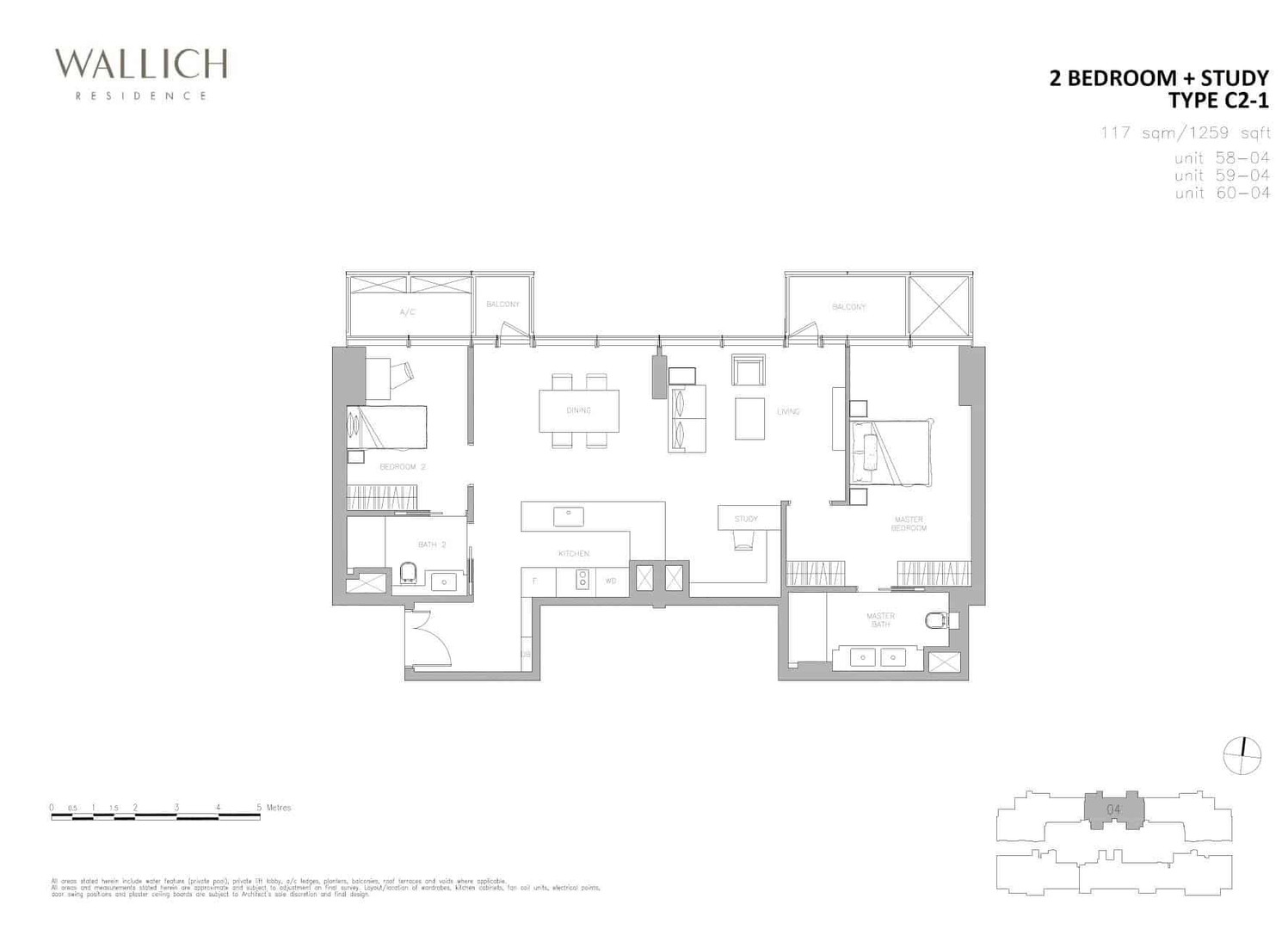 Wallich Residence Type C2-1