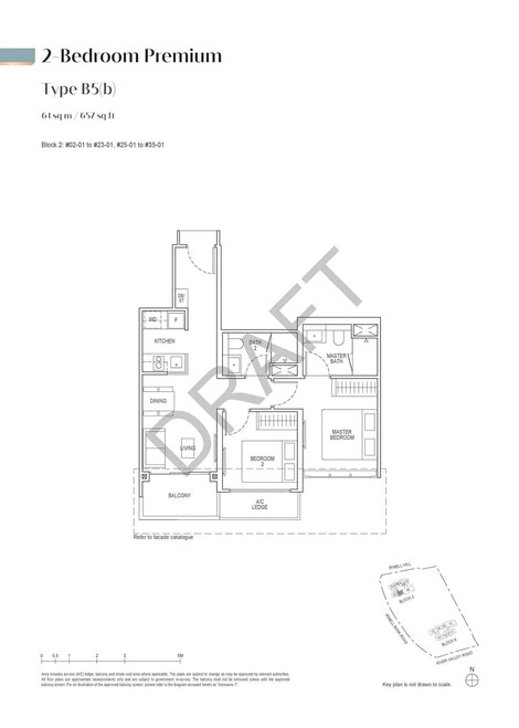 Irwell High Residences 2-Bedroom Premium