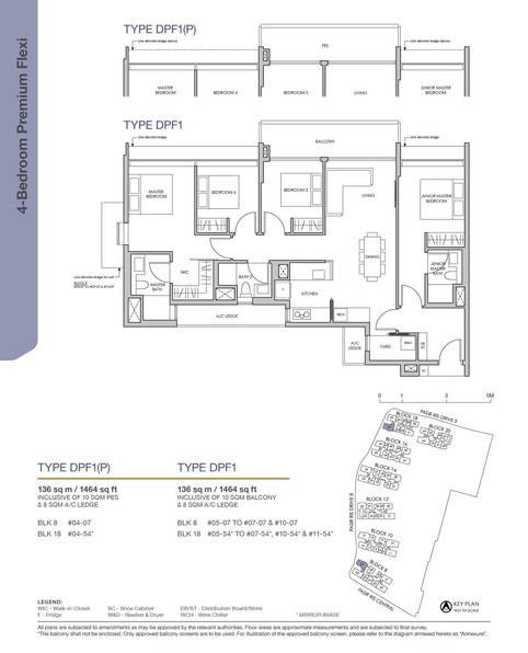Pasir Ris 8 4-Bedroom Premium Flexi