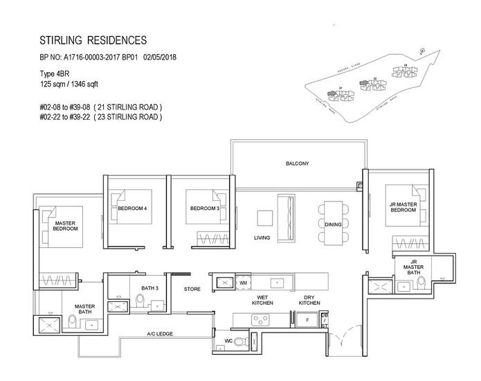 Stirling Residences 4 Bedroom