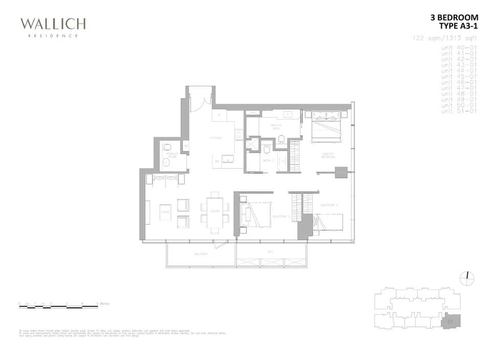 Wallich Residence Type A3-1