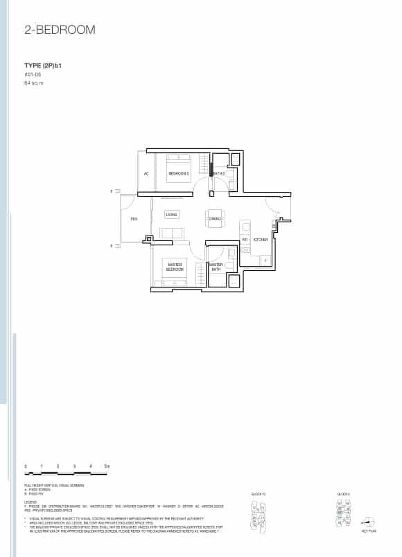 Midwood at Hillview Rise 2 Bedroom Premi
