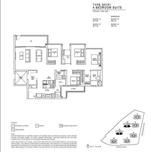 JadeScape 4 Bedroom Suite