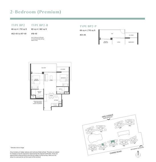 Parc Esta 2 Bedroom Premium