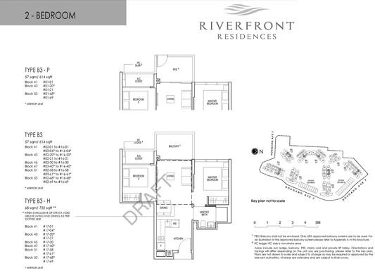 Riverfront Residences 2 Bedroom