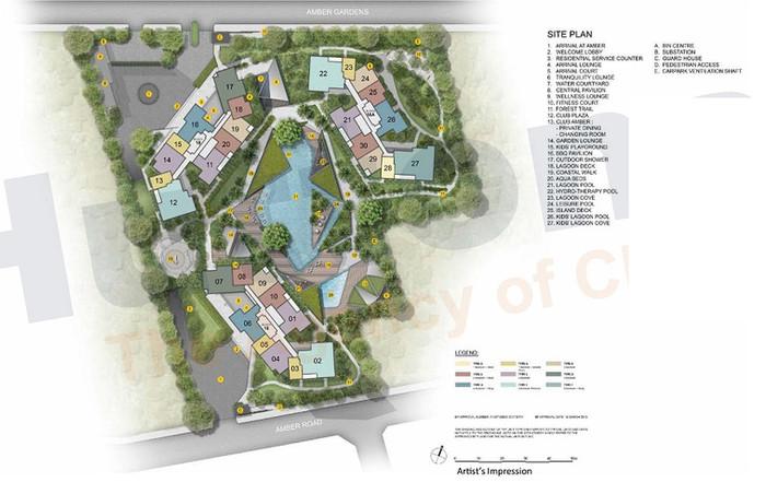 Amber Park - Site Plan