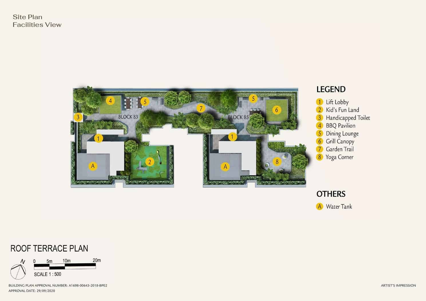 Phoenix Residences Site Plan Roof Terrac