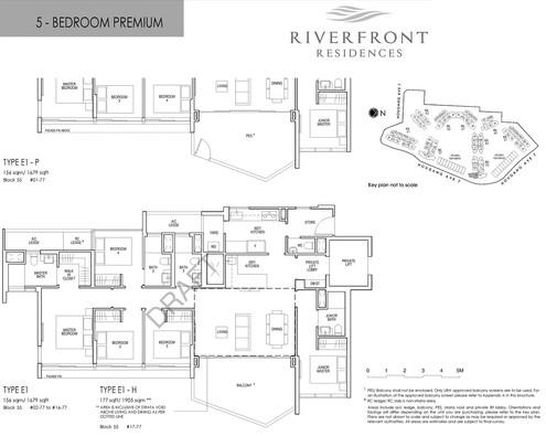Riverfront Residences 5 Bedroom