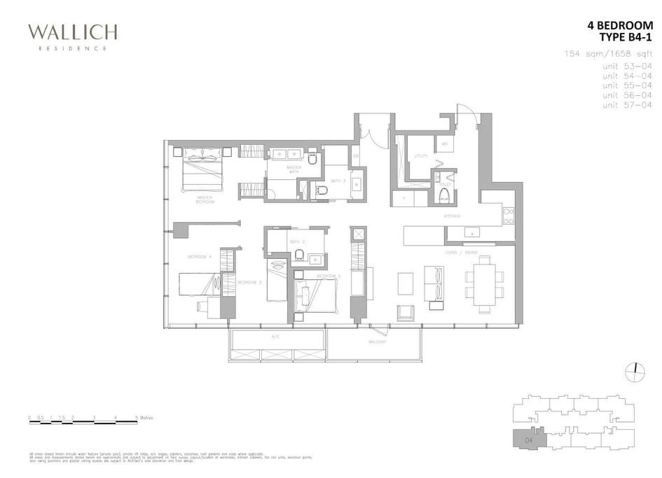 Wallich Residence Type B4-1