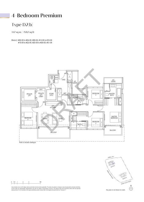 Irwell High Residences 4-Bedroom Premium