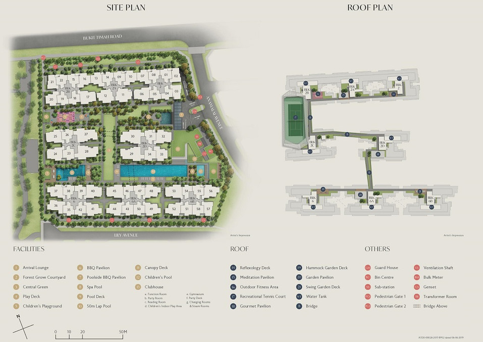 Royalgreen site plan