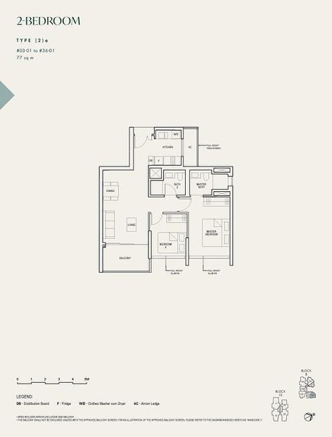 The Avenir 2-Bedroom