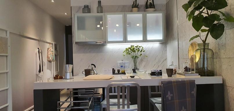 The M condo - Dual-use kitchen counter t