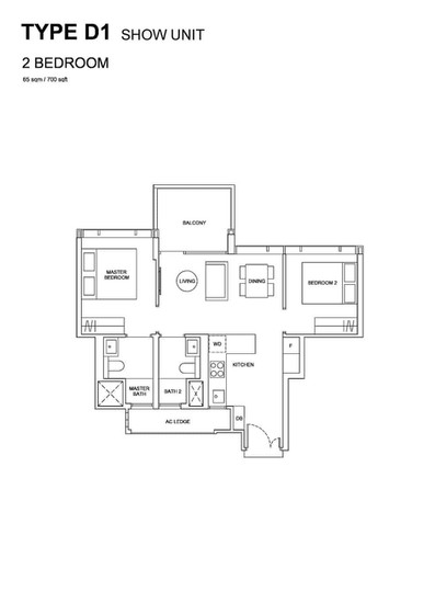 Hyll on Holland - 2-Bedroom Show Unit Pl