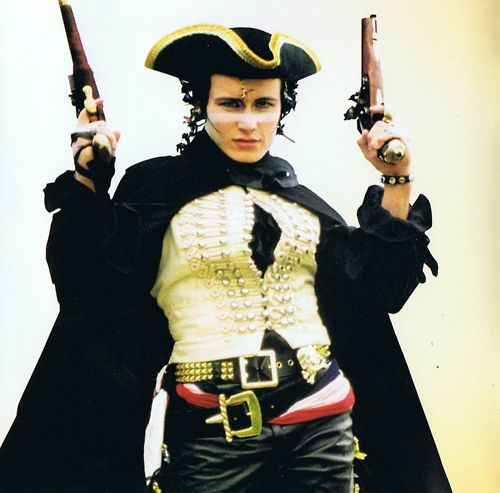 Adam Ant from the 1980s