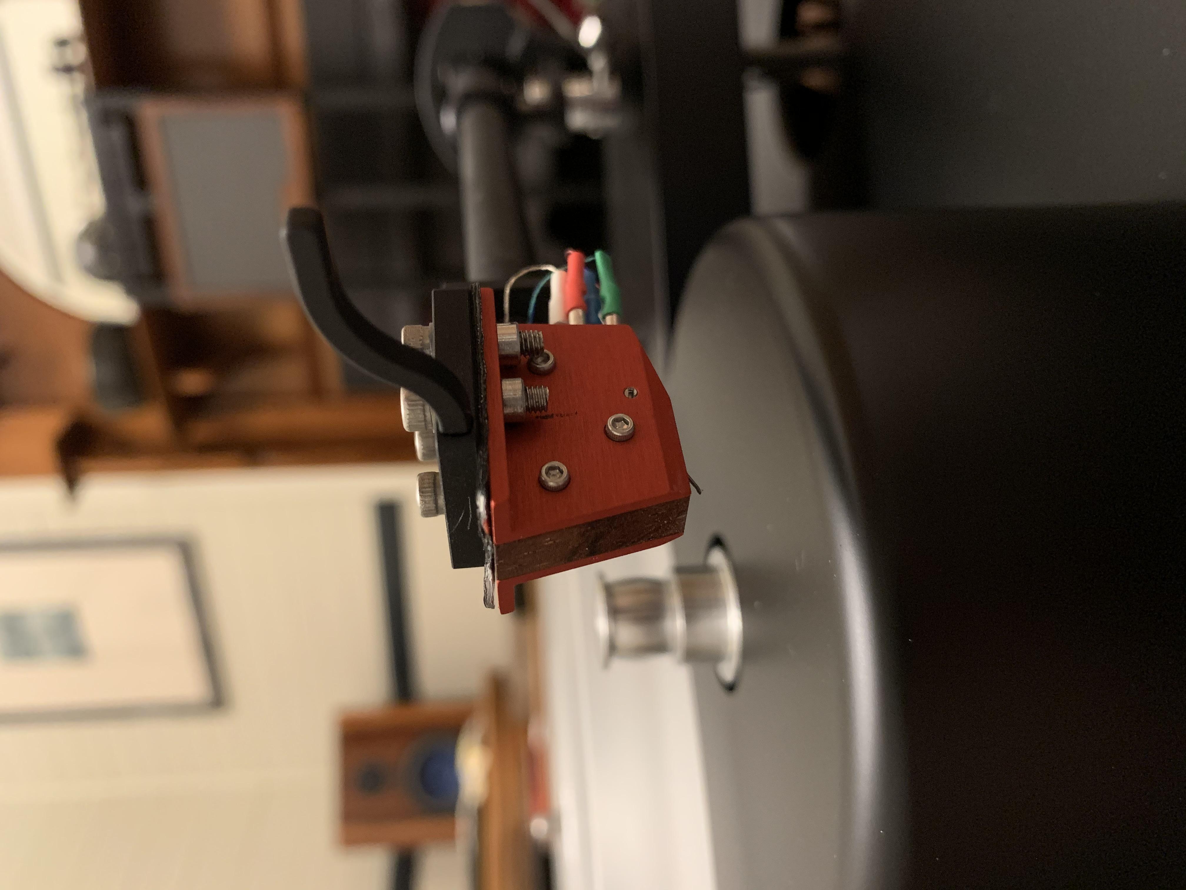 AN TT3 with IO 1 MC cartridge