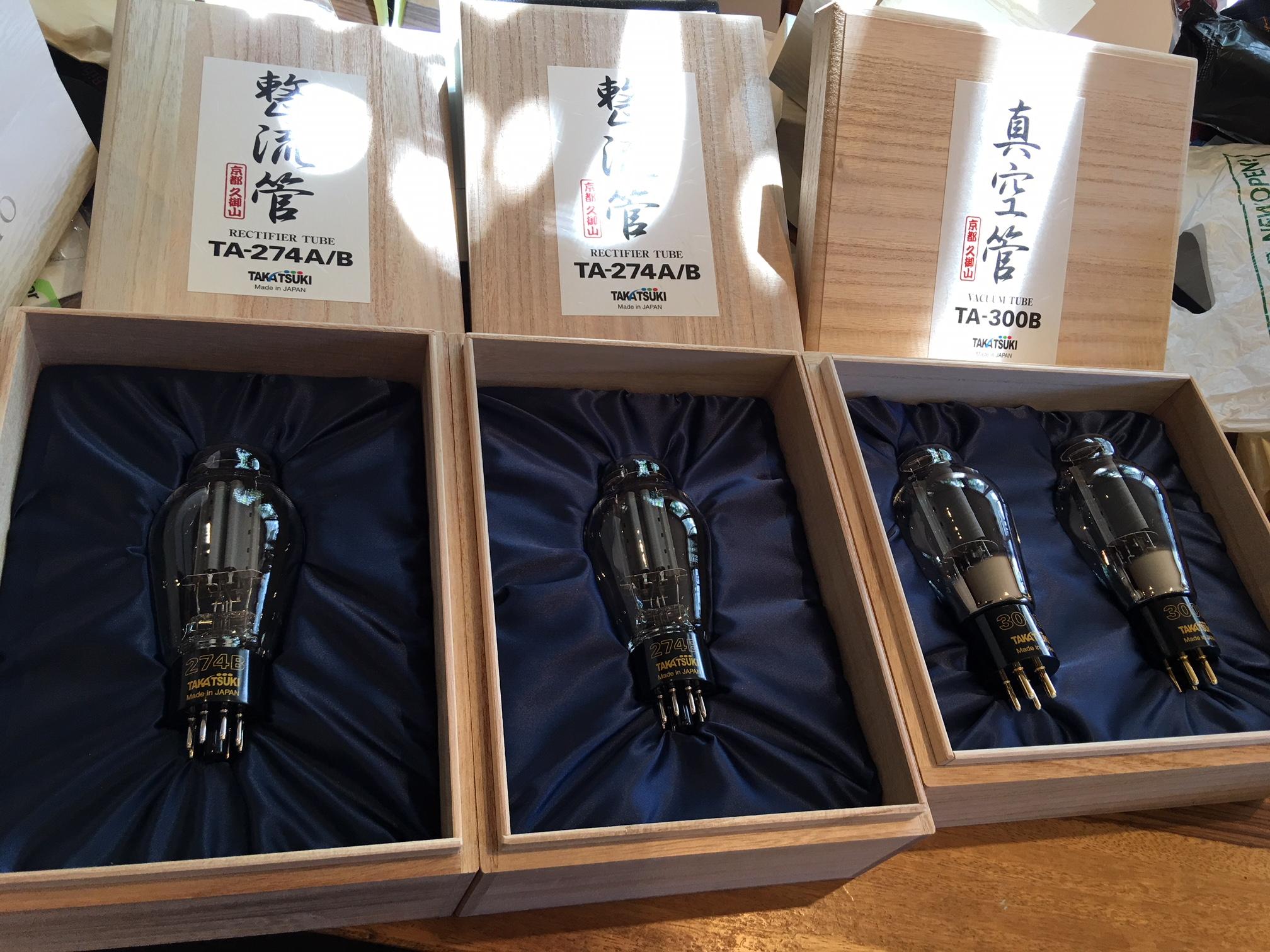 Takatsuki valves 300B & 274