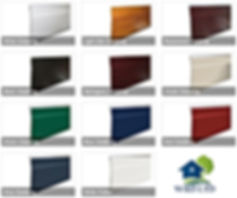 Colours Of Shiplap Cladding By Wrd ltd