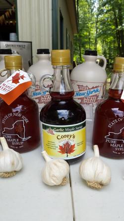 Garlic Maple Syrup