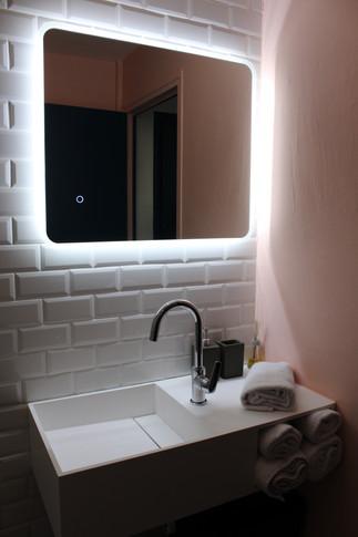 salle de bain carrelage métro