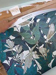 papier peint ressouce peinture