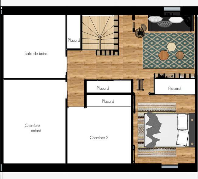 plan aménagement d'intérieur