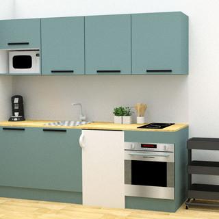projet cuisine studio 1