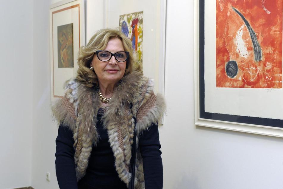 La artista Clara F. Marín expone en la sala de arte de la Fundación Araguaney-Puente de Culturas