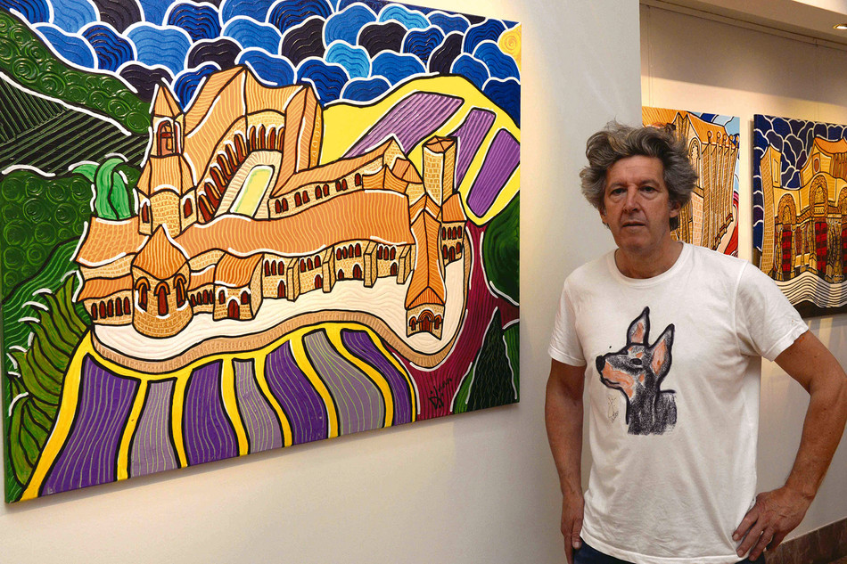 El pintor cangués Raúl Velloso expone en la Fundación Araguaney-Puente de Culturas