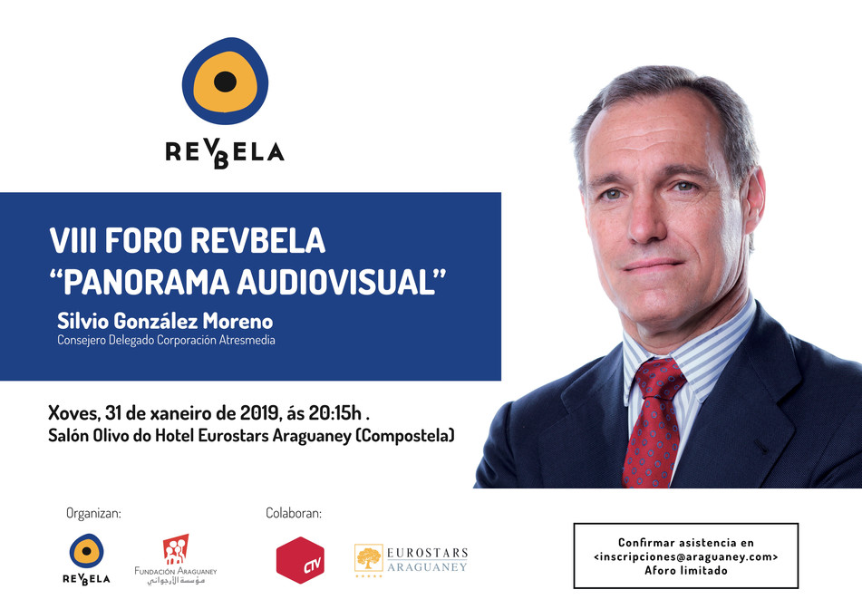 Foro sobre el panorama audiovisual con el consejero delegado de Atresmedia, Silvio González Moreno
