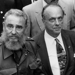 Fidel Castro visita Santiago de Compostela
