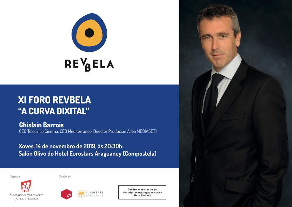 """El consejero delegado de Telecinco Cinema, Ghislain Barrois, hablará sobre la curva digital en el """"X"""
