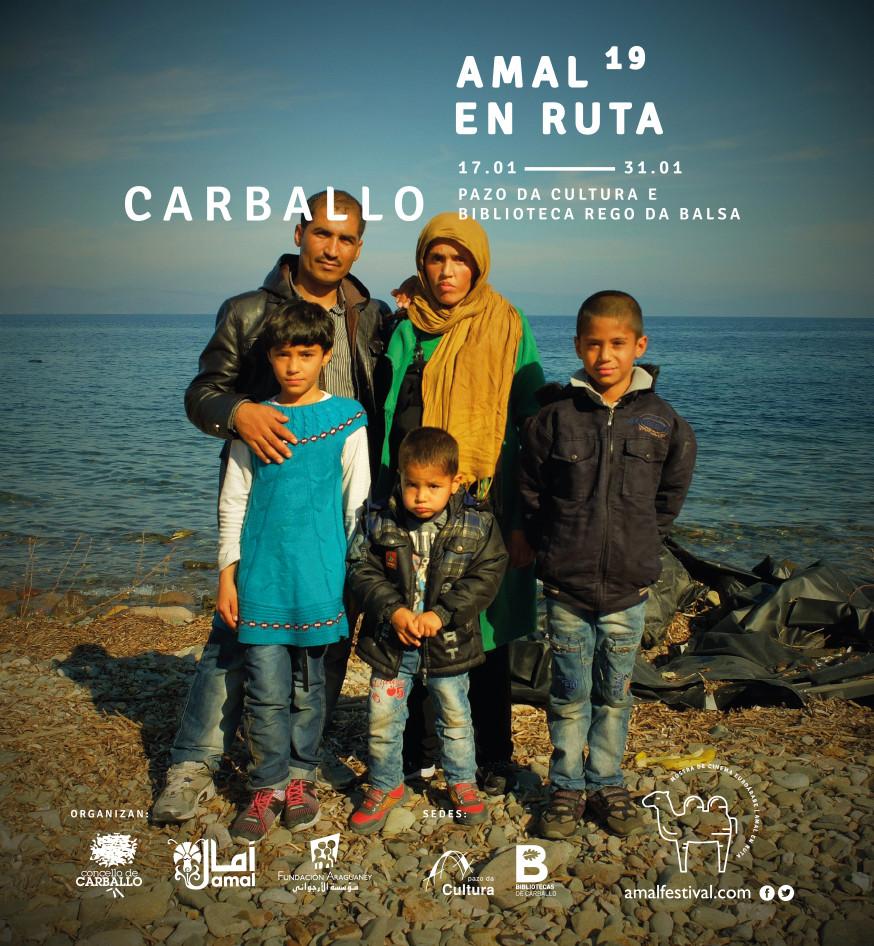 Amal en ruta vuelve a Carballo