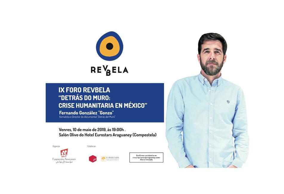 """Gonzo presenta su documental """"Detrás del muro"""" en el Foro Revbela"""