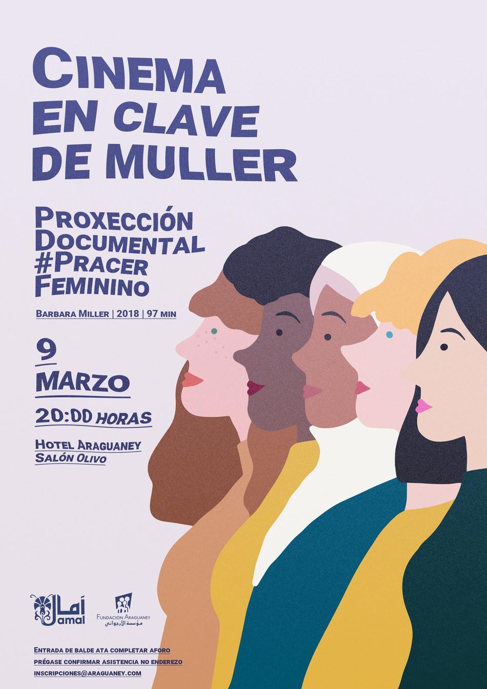 """La Fundación Araguaney-Puente de Culturas proyectará el documental """"#Placer Femenino"""" para conmemar"""