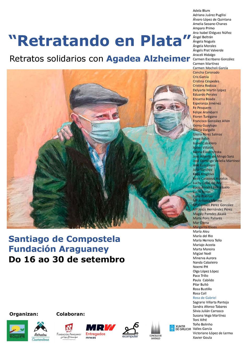AGADEA conmemora el Día Mundial del Alzhéimer con la exposición 'Retratando en Plata'