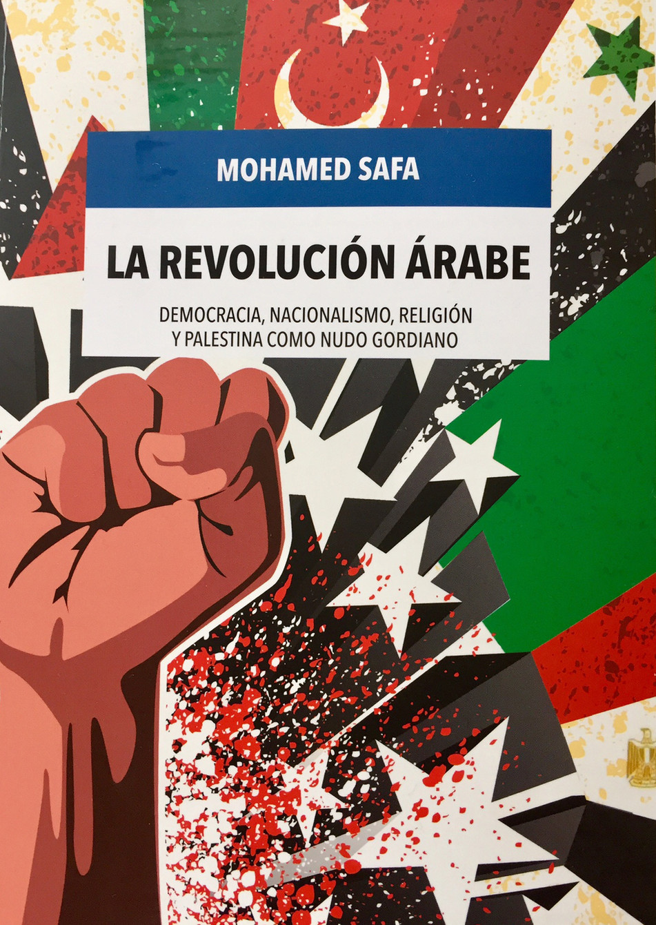 El activista y oftalmólogo palestino Mohamed Safa presenta el lunes su último libro sobre la revoluc