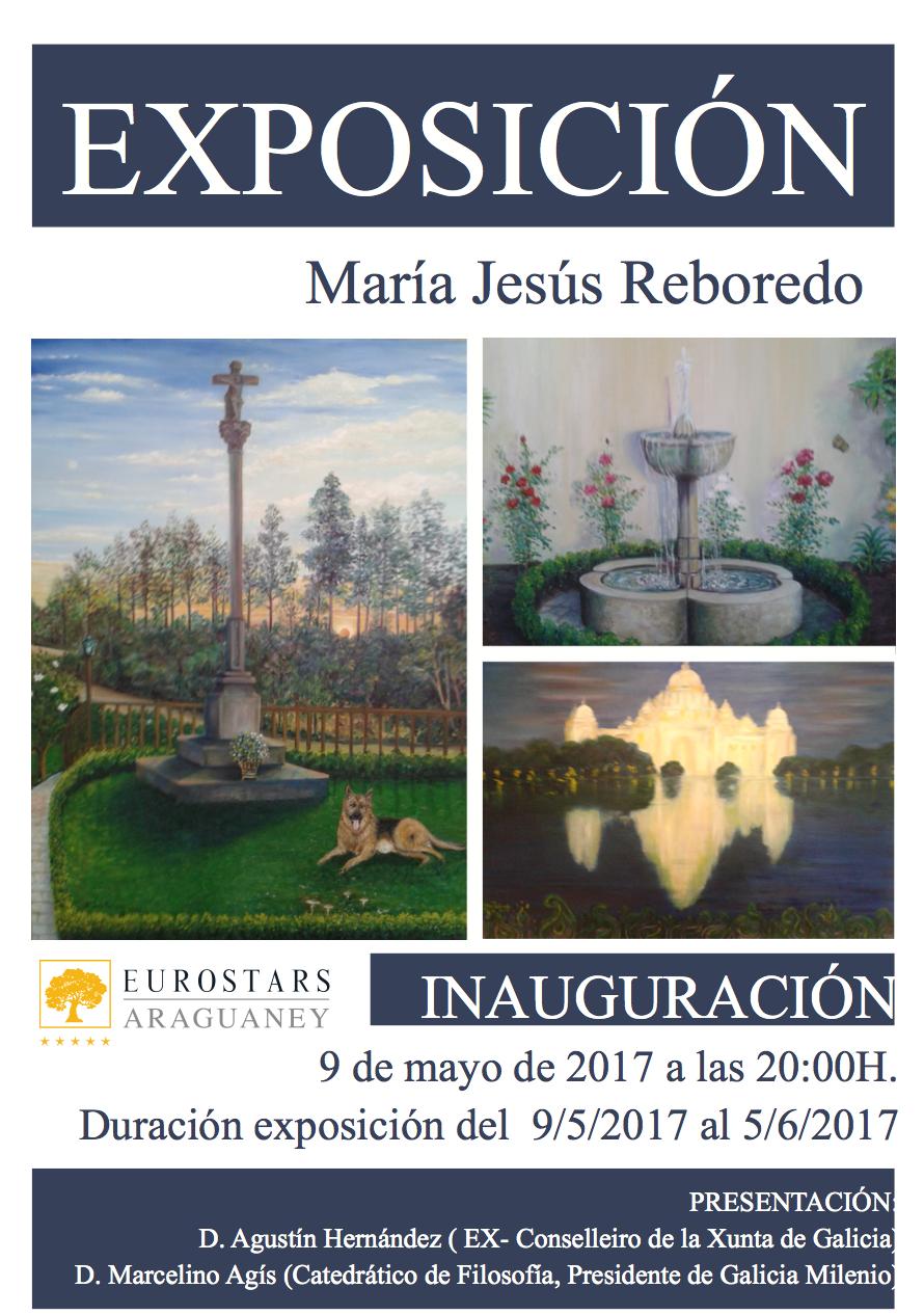 La pintora María Jesús Reboredo expone óleos y collage inéditos en la Fundación Araguaney-Puente de