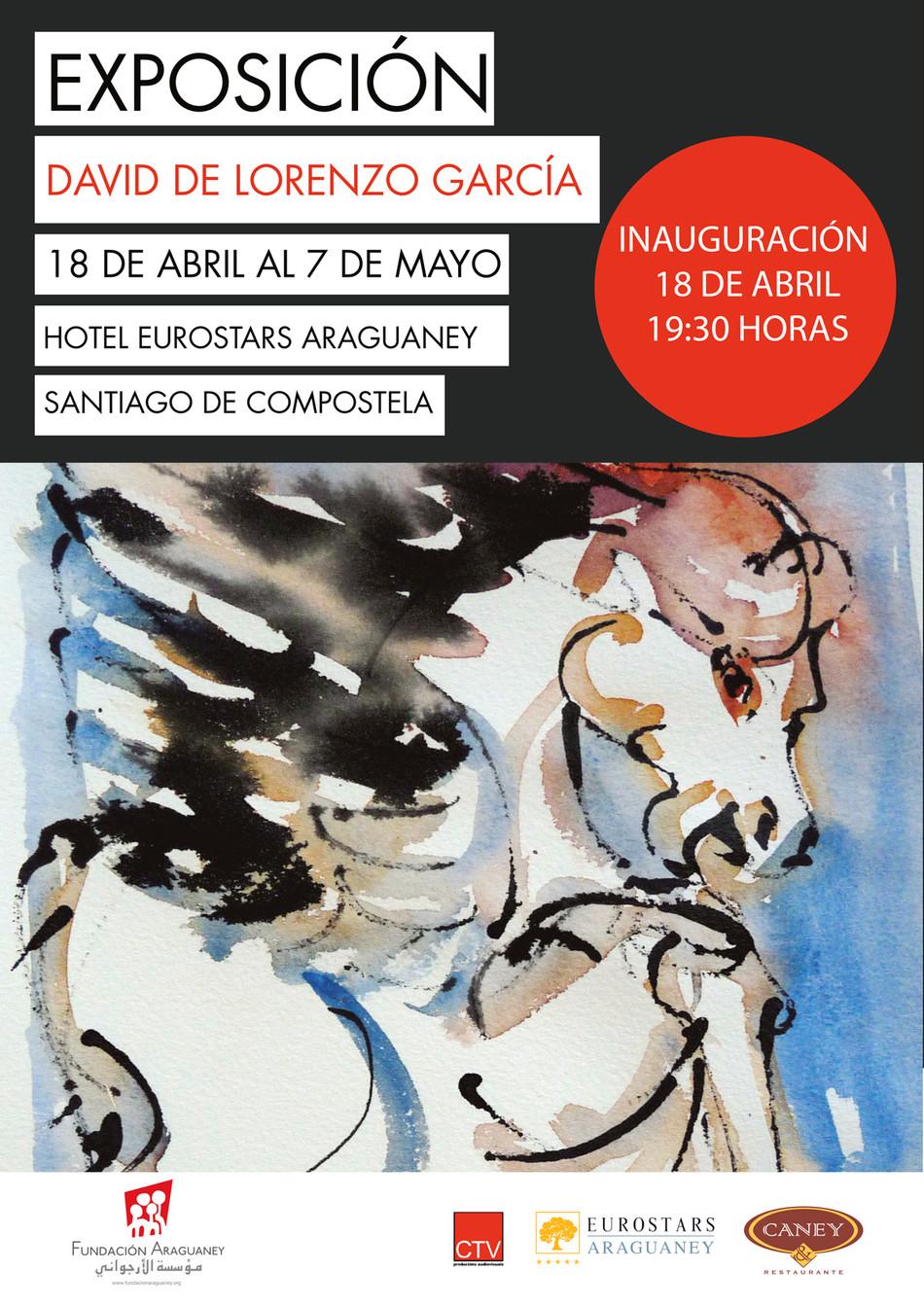 El artista plástico David de Lorenzo expone sus acuarelas figurativas en la Fundación Araguaney-Puen