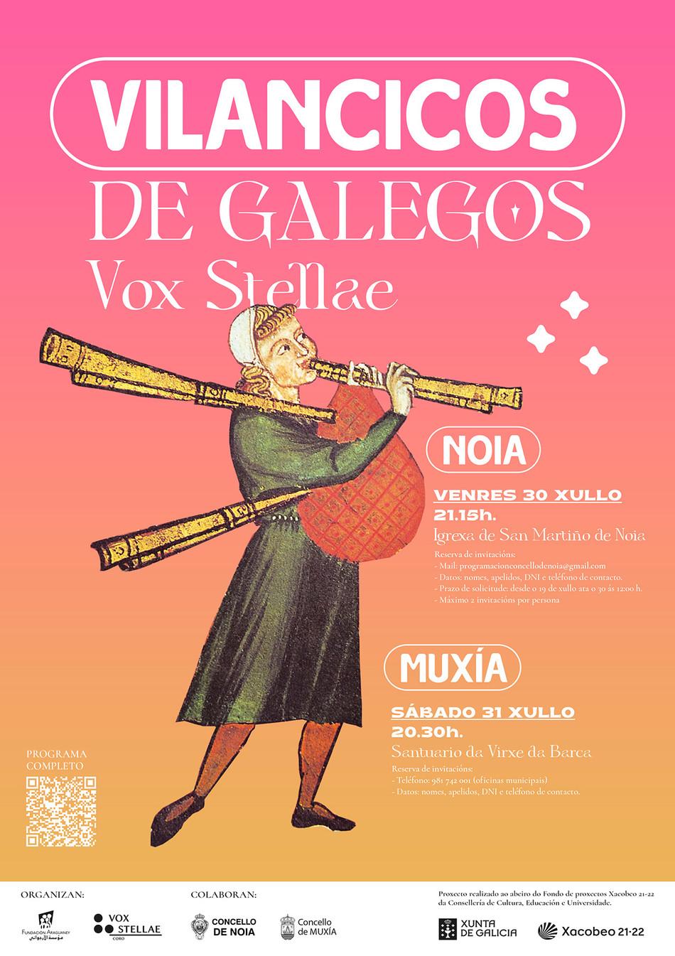 'Vilancicos de Galegos', novo proxecto da Fundación Araguaney.