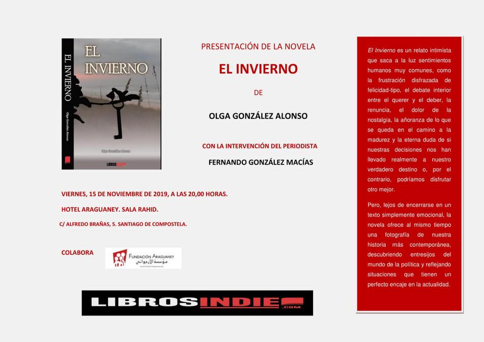 'El Invierno' de Olga Gónzalez Alonso se presenta en el Salón Rahid del Hotel Araguaney