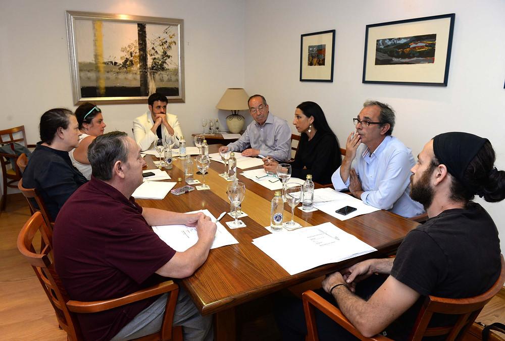 Reunión patronato Fundación Araguaney junio 2017